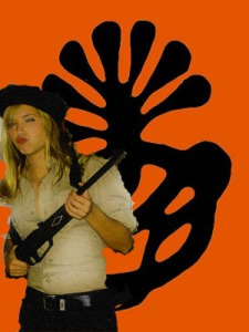 Me channeling Patty Hearst.